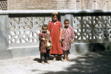 Samarkand, three children