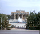Tashkent, Alisher Navoi Opera house with plaza and fountain
