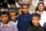 Samarkand, group of boys