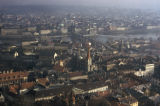 Prague, panoramic view of city