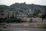 Tbilisi,  view of city and Narikala Fortress