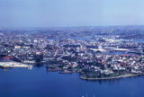 Sydney, aerial view of harbor