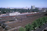 Melbourne, view of railroad yard