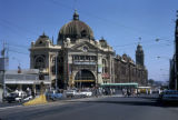 Melbourne, Flinders Street railroad station