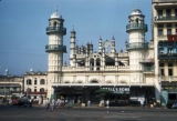 Rangoon, mosque in commercial area