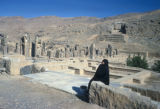 Persepolis, view of Treasury ruins