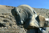 Persepolis, column capital in shape of horse head