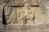Persepolis, Naqsh-i Rustam, bas-relief showing triumph of Shapur I over Valerian