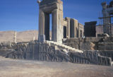 Persepolis, Palace of Darius and façade of south stairway