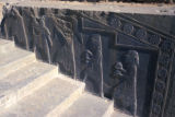 Persepolis, Palace of Darius, bas-relief depicting servants on stairway