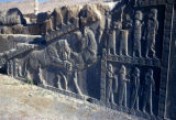 Persepolis, Palace of Darius, panel with lion-bull combat on stairway wall