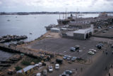 Lagos, panoramic view of harbor