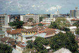 Lagos, panoramic view of city