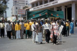 Dakar, trade union protest of cleaning workers