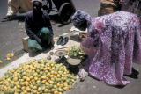 Dakar, fruit-seller with lemon display
