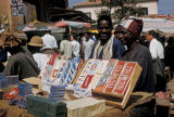 Dakar, market place with cigarette booth