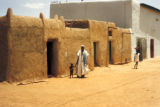 Kano, houses in traditional Nigerian style