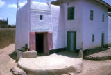 Kano, mud-walled house with windows