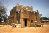 Kano, forestry office in traditional mud-walled building