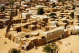 Kano, view of mud-walled homes