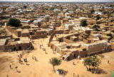 Kano, overview of mud-walled homes