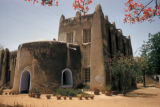 Kano, mud-walled official residence