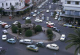 Nairobi, view of roundabout in city center