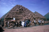 Kano, pyramid of peanut sacks
