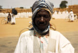 Kano, portrait of man in plaza