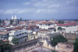 Zanzibar, view of city with Stone Town visible