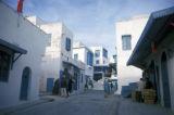 Sidi Bou Said, street scene