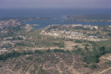 Dar es Salaam, aerial view of city