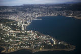 Wellington, panoramic view of city