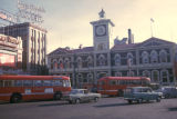 Christchurch, Cathedral Square with view of Old Post Office Clock Tower