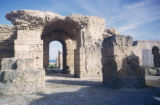 Carthage, view of archways amid ancient ruins