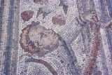 Carthage, detail of mosaic pavement at site of ancient ruins