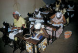 Dakar, women in sewing class