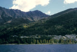 Queenstown, panoramic view of Southern Alps and Lake Wakatipu