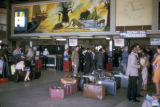 Lusaka, travelers at Lusaka International Airport
