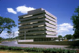 Lusaka, government office building