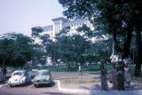 Kinshasa, view of government building