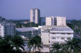 Kinshasa, view of high rise buildings