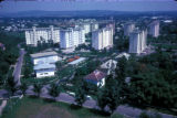 Kinshasa, view of high-rise apartment buildings