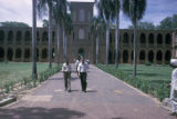 Khartoum, students near Main Library at University of Khartoum