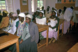 Nairobi, women attending family planning lecture