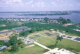 Abidjan, panoramic view of city