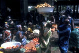 Abidjan, women at outdoor market
