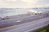 Auckland, express highway near harbor