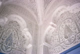 Kairouan, filigree in stone work of mosque
