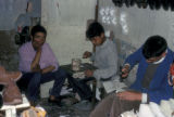 Gafsa, teenage boys in shoemaking workshop